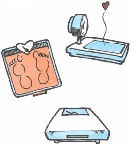 Forskellige vægte